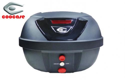 【レッツ】【GS50】リアボックス COOCASE S40 URBAN[アーバン] BASIC 無塗装ブラック