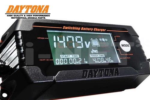 送料無料 19%オフ DAYTONA デイトナ ディスプレイ バッテリーチャージャー 充電器 91875 高性能 バッテリー充電器 キャッシュレス5%還元