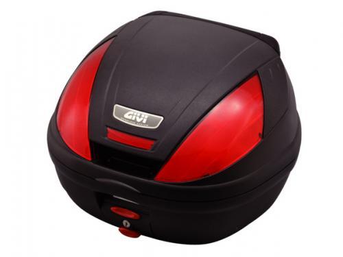 【送料無料】【GIVI[ジビ]】 リアボックス バイク用 ボックス E370ND 未塗装ブラック 【92666】 キャッシュレス5%還元
