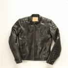 【DEGNER[デグナー]】レザージャケット 10WJ-1A ブラック/XLサイズ キャッシュレス5%還元