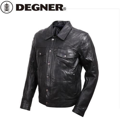 【送料無料】【DEGNER】 デグナー 19SJ-7 メンズ シープレザージャケット ブラック サイズL