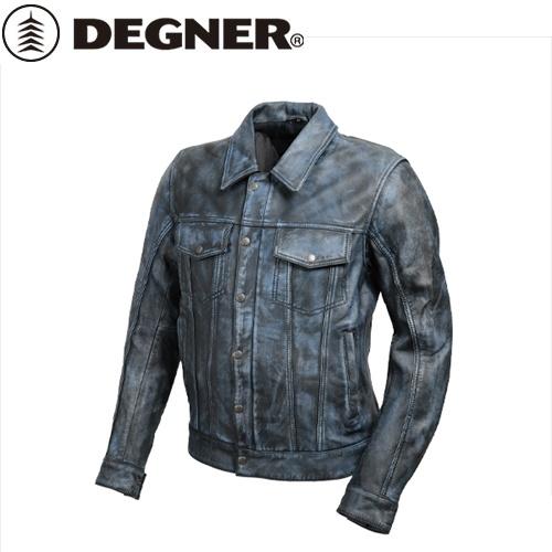 【送料無料】【DEGNER】 デグナー 19SJ-7 メンズ シープレザージャケット ネイビー サイズM
