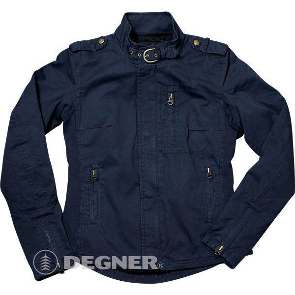 【送料無料】【DEGNER[デグナー]】 レディース コットン ジャケット FR9SNJ-3 ネイビー/Lサイズ