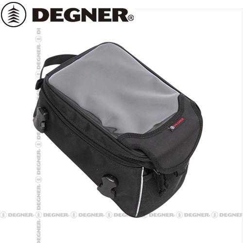 【DEGNER】 デグナー NB-147 ベルト式タンクバッグ ブラック 5L