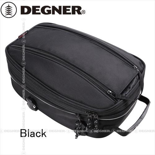 MAX14L ツーリング ショールダーバッグとしても DEGNER デグナー 8~14L キャンペーンもお見逃しなく モデル着用&注目アイテム ブラック ナイロンシートバッグ NB-95A 容量可変式