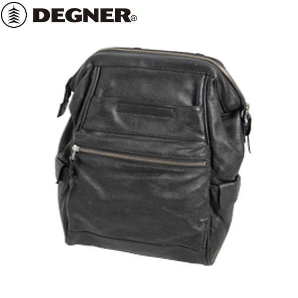 【送料無料】 【DEGNER】 デグナー SB-79 レザーサドルバッグ ブラック 13L
