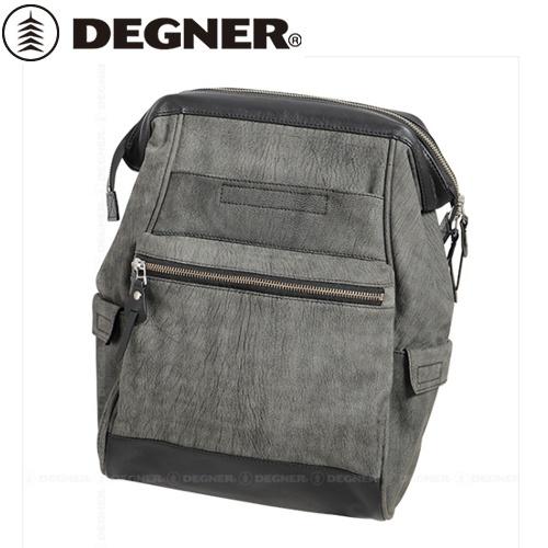 【送料無料】 【DEGNER】 デグナー SB-79 レザーサドルバッグ グレー 13L
