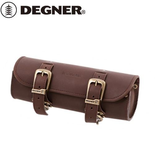 【送料無料】【DEGNER】 デグナー TB-4IN レザーツールバッグ ダークブラウン