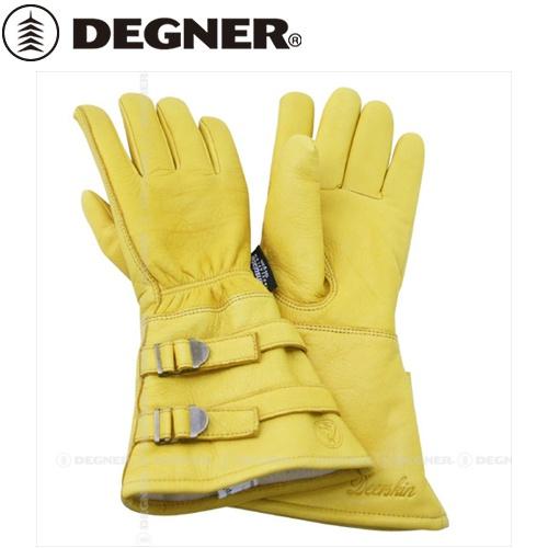 【DEGNER】 デグナー WL235W ウィンターグローブ タン サイズL