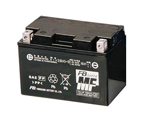 XR230/BA-MD36 05~ 古河バッテリー [ 古河電池 ] シールド型 バイク用バッテリー [ 液入充電済 ] FTZ7S