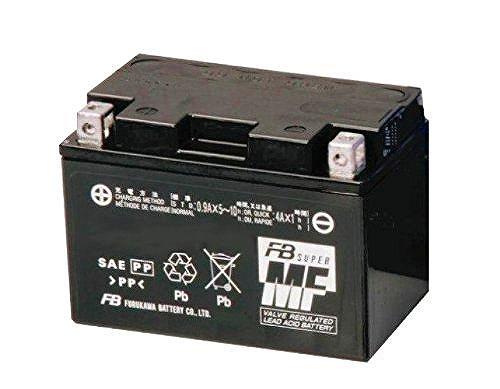 ZZ-R400/ZX400N 93~ 古河バッテリー [ 古河電池 ] シールド型 バイク用バッテリー FTX12-BS