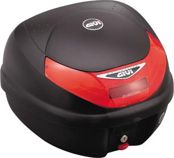 【セール特価】【GIVI[ジビ]】 リアボックス バイク用 ボックス E30TN 無塗装ブラック 【68412】 キャッシュレス5%還元