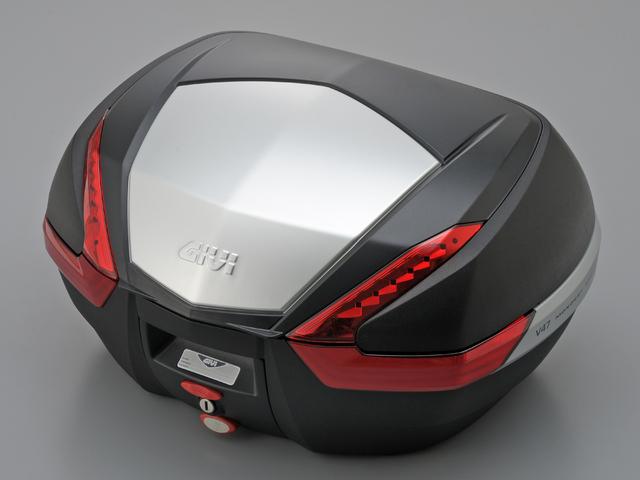 【送料無料】【GIVI[ジビ]】 リアボックス バイク用 ボックス モノキーケース V47N 未塗装ブラック(黒)【92512】 キャッシュレス5%還元