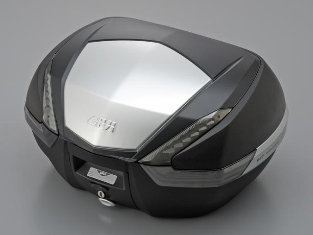 【送料無料】【GIVI[ジビ]】 リアボックス バイク用 ボックス モノキーケース V47NT TECH 未塗装ブラック(黒)【92513】 キャッシュレス5%還元