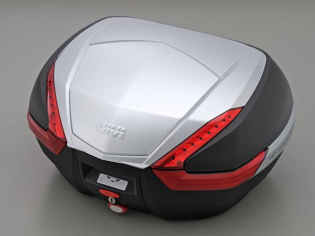 【送料無料】【GIVI[ジビ]】 リアボックス バイク用 ボックス モノキーケース V47 G730 シルバー(銀)【92515】