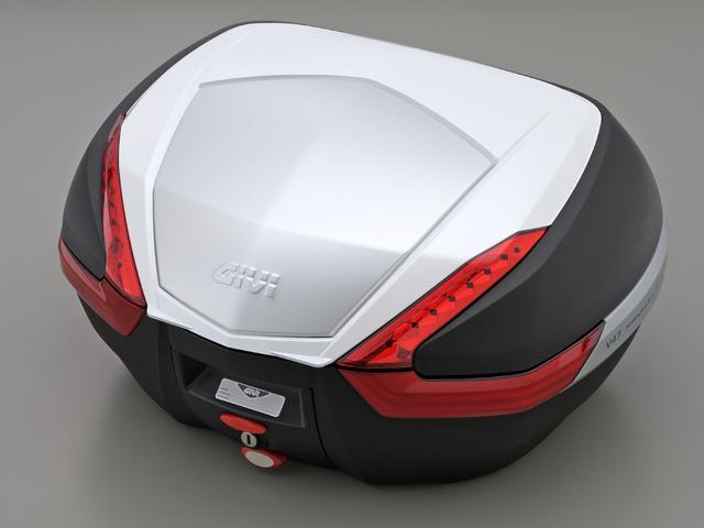 【送料無料】【GIVI[ジビ]】 リアボックス バイク用 ボックス モノキーケース V47 B912 パールホワイト(白)【92516】 キャッシュレス5%還元