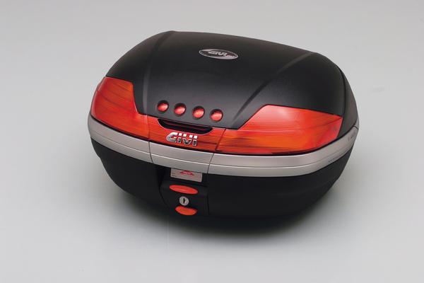 【送料無料】【GIVI[ジビ]】 リアボックス バイク用 ボックス モノキーケース V46N トップケース 未塗装ブラック(黒)【63675】