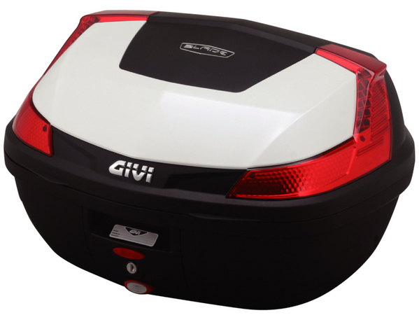 【送料無料】【GIVI[ジビ]】 リアボックス バイク用 ボックス モノロックケース B47B912 パールホワイト(白)【76883】 キャッシュレス5%還元