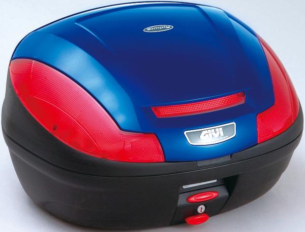 【送料無料】【GIVI[ジビ]】 リアボックス バイク用 ボックス モノロックケース E470B529D ブルー(青)【68055】 キャッシュレス5%還元