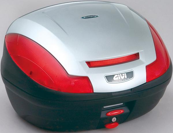 【送料無料】【GIVI[ジビ]】 リアボックス バイク用 ボックス モノロックケース E470G730D シルバー(銀)【68057】 キャッシュレス5%還元