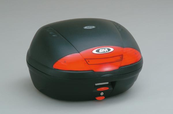 【送料無料】【GIVI[ジビ]】 リアボックス バイク用 ボックス モノロックケース E450NDランプ無し 未塗装ブラック(黒)【68053】 キャッシュレス5%還元