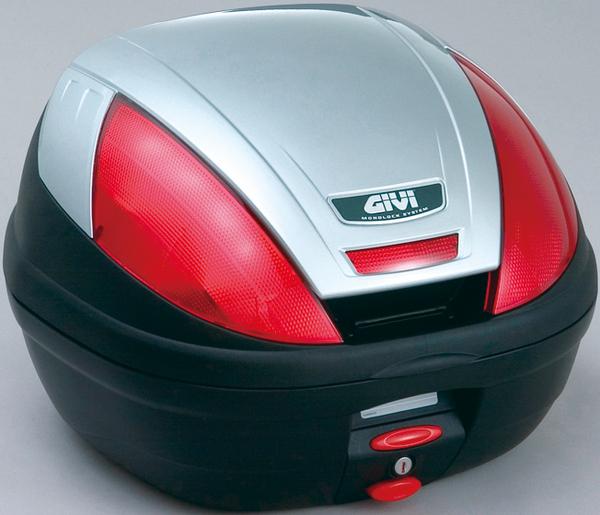 【送料無料】【GIVI[ジビ]】 リアボックス バイク用 ボックス モノロックケース E370G730D シルバー(銀)【68048】