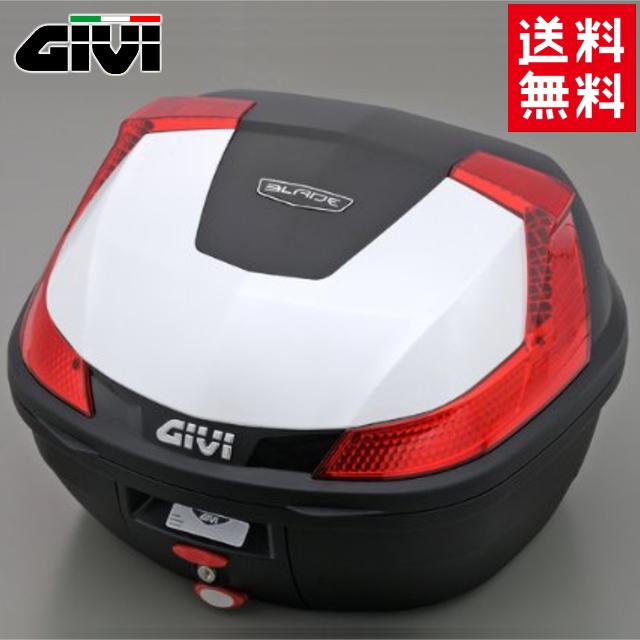 送料無料 GIVI ジビ リアボックス バイク用 37L ボックス モノロックケース B37B912D パールホワイト 白 デイトナ 78036 あす楽対応 キャッシュレス5%還元