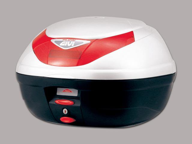 【送料無料】【GIVI[ジビ]】 リアボックス バイク用 ボックス モノロックケース E350B906D パールホワイト(白)【68041】 キャッシュレス5%還元