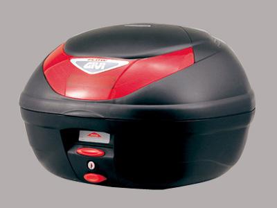 【送料無料】【GIVI[ジビ]】 リアボックス バイク用 ボックス モノロックケース E350ND FLOW 未塗装ブラック(黒)【68044】 キャッシュレス5%還元