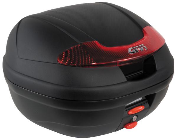 【送料無料】【GIVI[ジビ]】 リアボックス バイク用 ボックス モノロックケース E340N VISION【66788】 キャッシュレス5%還元