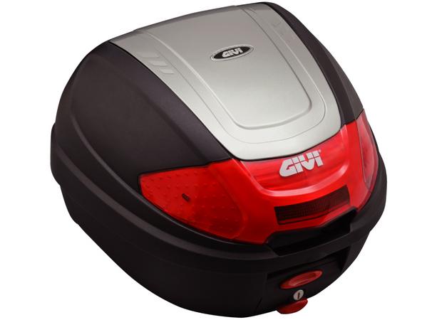 【送料無料】【GIVI[ジビ]】 リアボックス バイク用 ボックス モノロックケース E300N2 G730 シルバー(銀)【76881】