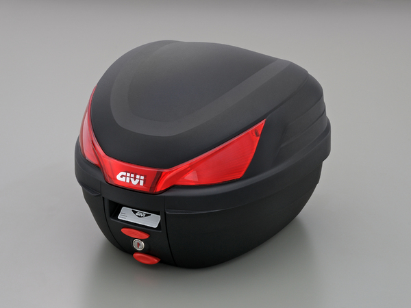【GIVI[ジビ]】 リアボックス バイク用 ボックス モノロックケース モノロックケース B27N 未塗装ブラック(黒) 27L ストップランプ無し【78033】 キャッシュレス5%還元