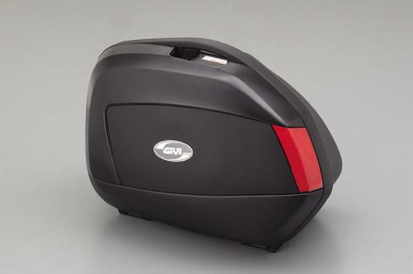 【送料無料】【GIVI ジビ】バイク用 ボックス サイドケース パニアケース V35N 未塗装ブラック(黒) 左右セット【68068】 キャッシュレス5%還元