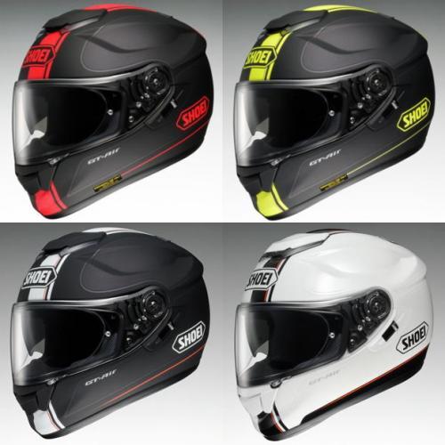 【SHOEI】 ジーティー - エアー ワンダラー Lサイズ(59cm) (赤/黒)(黄/黒)(黒/銀)(白/銀)オープンフェイス フルフェイス ヘルメット ショウエイ GT-Air WANDERER