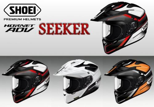 【SHOEI】 ホーネット エーディーブイ シーカー Mサイズ(57cm) TC-1(赤/黒) TC-6(白/黒) TC-8(オレンジ/黒) オフロード ヘルメット ショウエイ HORNET ADV SEEKER