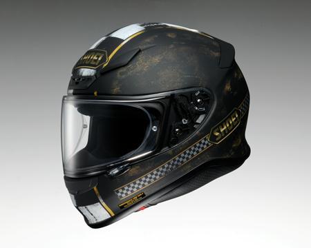 【SHOEI】 Z-7 ターミナス Mサイズ(57cm) TC-9 (黒/金) マットカラー ヘルメット フルフェイス ショウエイ Z7