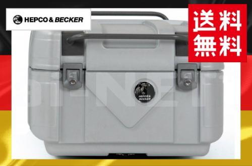 5月下旬入荷 送料無料 HEPCO&BECKER へプコ&ベッカー GOBI ゴビ トップケースTC42 シルバー 容量:42L 610084-0009 リアボックス ツーリングボックス ハードケース キャッシュレス5%還元