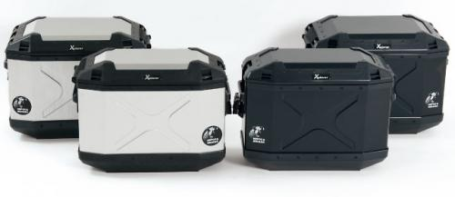 【セール特価】【HEPCO&BECKER ヘプコ&ベッカー】 XPLORER エクスプローラー サイドケース パニアケース ボックス SC30 ハードケース 左右セット ブラック HBS-XPR-SS-B キャッシュレス5%還元