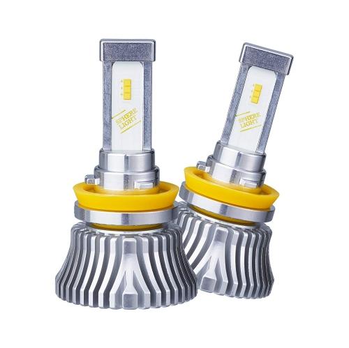 【送料無料】日本製 4輪用 LEDヘッドライト H8/H9/H11/H16 4500K SPHERE/スフィアライト RIZING2【SRH11045】メーカーオプション品