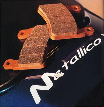 【Brembo[ブレンボ] 4POT Mono Block M4】用 Metallico[メタリカ] ブレーキパッド [7575] [スペック03]
