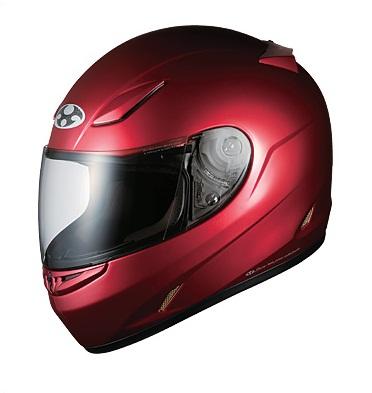 送料無料 フルフェイス ヘルメット (オージーケーカブト) FF-R3 シャイニーレッド Sサイズ バイクヘルメット OGK KABUTO