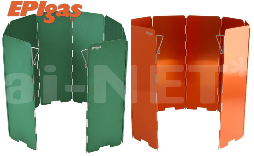 あす楽 メール便可 直結型バーナー対応の風防 商い ウインドシールド ウインドスクリーン EPIgas EPIガス ロング グリーン 風よけ スーパーセール 開催 あす楽対応 風防 防風 直結型ストーブ用 オレンジ 購買