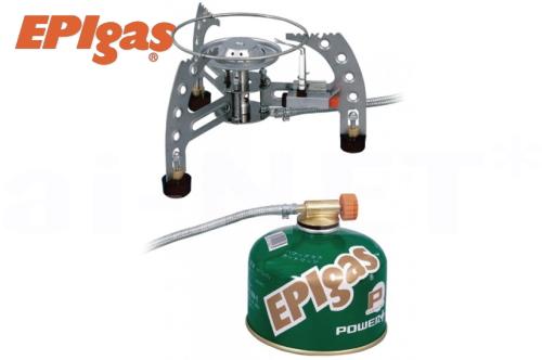 【日本製】EPIgas[EPIガス] SPLITストーブ 分離型 【S-1026】ガスバーナー【キャンプ アウトドア 夜釣り トレッキング 高品質ストーブ ガスカートリッジ式シングルバーナー】【あす楽】