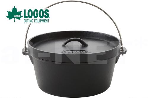 LOGOS/ロゴス SLダッチオーブン12inch/12インチ・ディープ(バッグ付き)バーベキュー