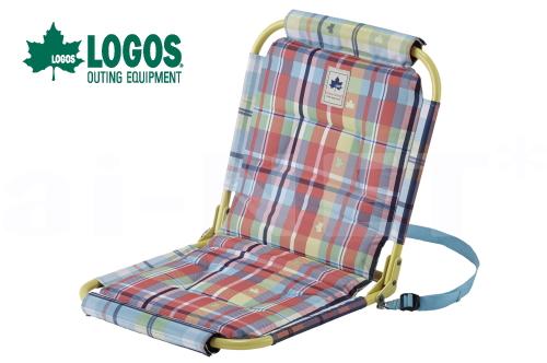 LOGOS/ロゴス チェッカー パッドイングランドチェア折りたたみチェア