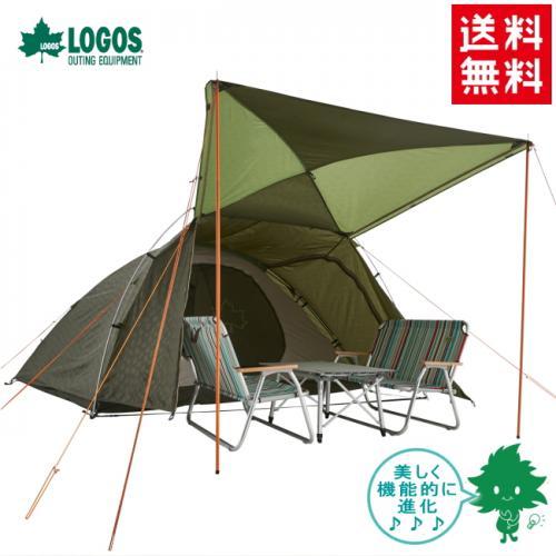 【送料無料】LOGOS/ロゴス テント neos AL PANELリビングプラス XL-AI【71805059】6人用【ドーム型テント】【設営簡単 ファミリーキャンプ】 【大型テント】