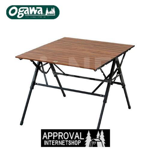 小川テント 軽量 折りたたみテーブル 3 ハイ&ローテーブル アウトドアテーブル ナチュラルウッド調 高さ調整 OGAWA CAMPAL 小川キャンパル オガワテント キャンパルジャパン 1980 あす楽対応 キャッシュレス5%還元