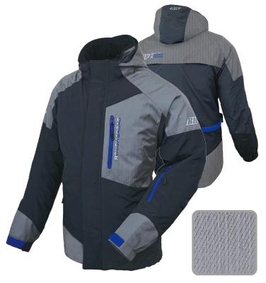 【送料無料】【ラフ&ロード】 デュアルテックス ウォーム パーカー RR7660 TM-ブラック×Y.ブルー インナージャケット付き