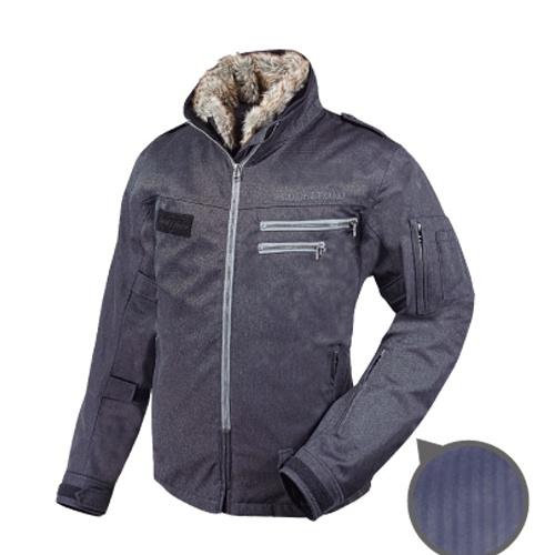 【送料無料】【ラフ&ロード】 フライトジャケットEX RR7692 ヘリンボーンチャコール インナージャケット付き