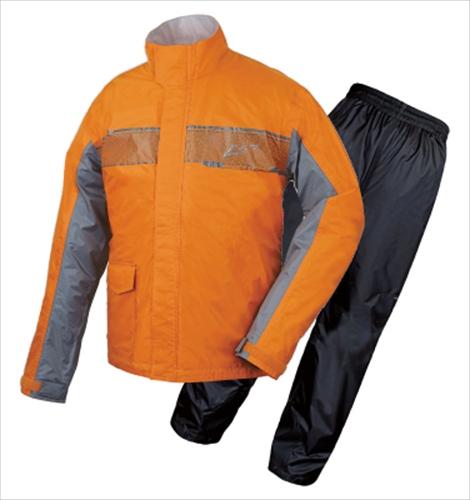 バイク専用レインスーツ オールシーズン 日本未発売 ラフ ロード オレンジ RR7809 予約販売品 グライドレインスーツ Lサイズ